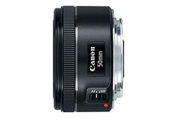 Canon EF 50mm 1:1.8 STM Objektiv (49mm Filterdurchmesser) schwarz -