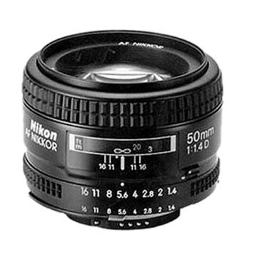 Nikon AF Nikkor 50mm 1:1,4D Objektiv (52 mm Filtergewinde) -