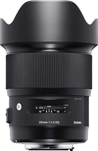 Sigma 20mm F1,4 DG HSM Objektiv für Canon schwarz -