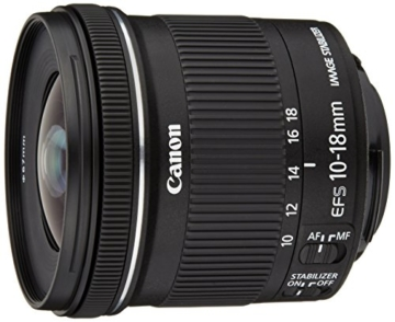 Canon EF-S 10-18mm 1:4.5-5.6 IS STM Objektiv schwarz -