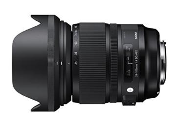 Sigma 24-105mm F4,0 DG OS HSM (Filtergewinde 82mm) für Canon Objektivbajonett -