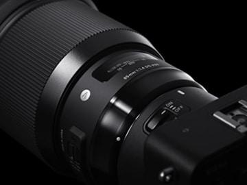 Sigma 85mm F1,4 DG HSM Art (86mm Filtergewinde) für Canon Objektivbajonett schwarz -