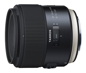 Tamron SP35mm F/1.8 Di VC USD Canon Objektiv (67mm Filtergewinde, fest) schwarz -