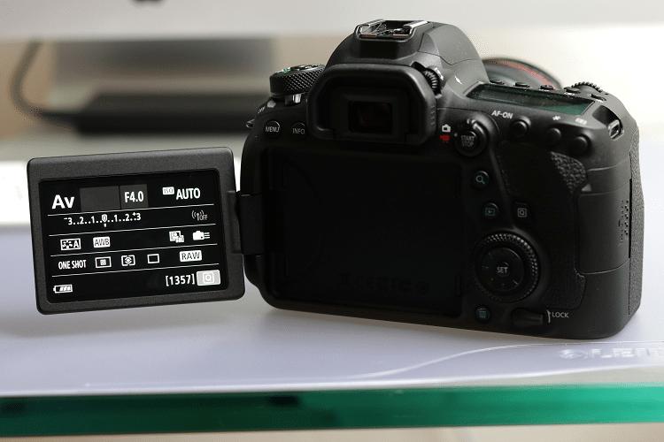 EOS 6D Mark ii schwenkbares Display