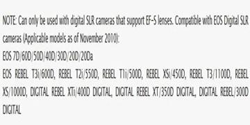 Canon EF-S 55-250mm f4-5.6 IS STM Objektiv für Spiegelreflexkameras von Canon - 4
