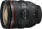 Canon Standardzoomobjektiv EF 24-70mm f/1:4L IS USM (77mm Filtergewinde) schwarz - 1