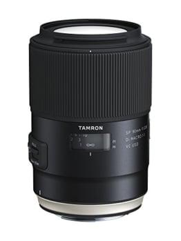 Tamron F017E SP 90 mm F/2.8 Di Macro, 1:1 VC USD Canon Kamera-Objektive - 1