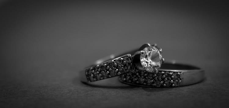 Hochzeitsring Macro